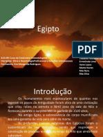 Egipto - Trabalho (Curso de Esteticista - Cosmetologista)