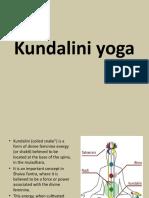 Kundalini yoga ....