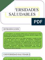 UNIVERSIDADES SALUDABLES