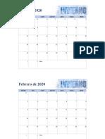 Calendario Del Diplomado CDS21
