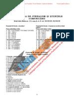 ListaFacultati.ro Subiecte Admitere Universitatea Bucuresti Jurnalism 2005