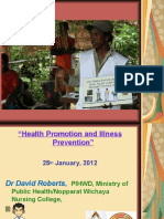 Health promotion illness prevention -my lecture.ppt