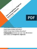 Cara menegakkan diagnosa keracunan makanan (3)