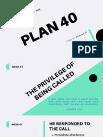 PLAN40 Lesson