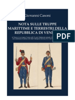 CASONI Giuseppe. Republic of Venice's Army and Navy. 1847
