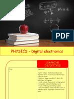 Physics 30 - Digital electronics