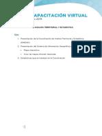 Eje 2 - Coordinación de Análisis Territorial y Estadistica (DNOAD)