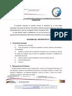 INSTRUCTIVO PARA LA REALIZACION DEL ANTEPROYECTO Y  PROYECTO FINAL-1