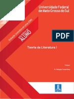 GDAv1.0 - Teoria Da Literatura I - CPAN