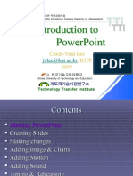 Power Point Study