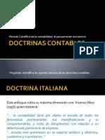 DOCTRINAS CONTABLES DEL PERIODO CIENTIFICO