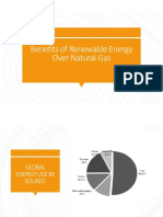 Benefits of Renewable Energy Over Natural Gas