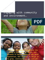 Engaging With Community and Environment.ppt 2003
