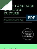 Latin Language and Culture