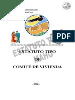 ESTATUTO COMITE DE VIVIENDA