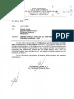 VPAA Office Memorandum Order No. 26, s. 2020