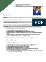 ZeeshanTariq Resume