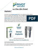 How to Reduce Pain After Dental Implants (2)