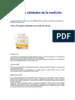 Principales utilidades de la medición del pH.doc