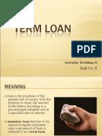 Term Loan Ppt1