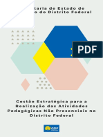 Brasília Proposta Retomada as Aulas