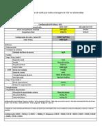 Configuração Medidor LGPmass Carbonatação
