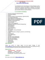 International Journal on Bioinformatics Biosciences( IJBB)