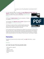 Writing tips. Intermedio y Avanzado.2014-2015
