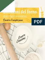 Emozioni del forno - dolci facili e creativi-compresso