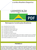 Apresentação retrospectiva da lesgislação brasileira