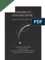 Stirner - Individuo e insurrezione