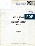 Resins in Mine Roof Support_ΙΙ by D. C. Mclean and S. Α. McKay