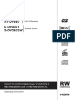 Pioneer DCS-580 Manual En