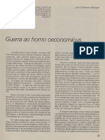 A - MERQUIOR - Guerra ao homo economicus