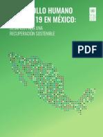 Desarrollo Humano y COVID19 en Mexico. Final