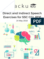 Direct & Indirect Speech for SSC CGL PDF.pdf