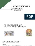 ACTOS Y CONDICIONES INSEGURAS FRUTOS DEL PERÚ