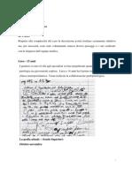 Grafologia Clinica - Luca 15 Anni