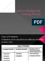 Evaluation - Evaluation in Teaching and Learning Process V3.pptx