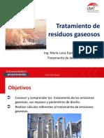 Tecnologías aplicables para gases