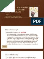 Week 2-3_Philosophy reporting