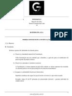 Roteiro de aula - aula 03 - Poder Constituinte II