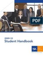 2009-2010 CGA Handbook