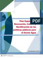 El Plan Especial de Renovación, Cambio y Rectificación de las políticas públicas para el Sector Agua 12.12.19 (3) (1)