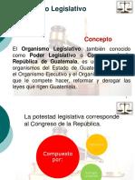 Derecho Administrativo, Organismo Legislativo
