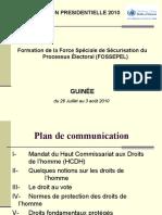 Fossepel Guinee 26 Juillet Au 4 Aout 2010