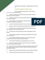 Peraturan Makmal Sains
