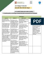 PLAN DE CLASES Prekínder - 18 AL 22 DE MAYO