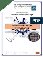 Cours et TD Codage et Théorie de l'information