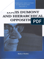 (Methodology and History in Anthropology) Dumont, Louis_ Hertz, Robert_ Parkin, Robert - Louis Dumont and Hierarchical Opposition-Berghahn Books (2013)